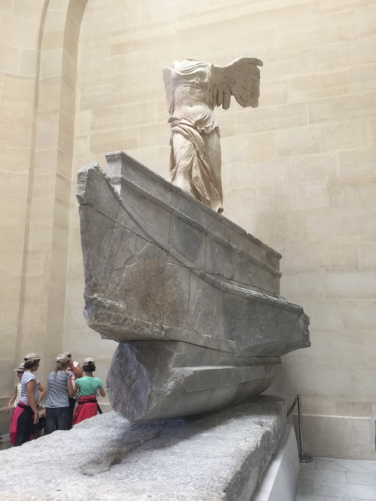 Winged Victory of Samothrace Louvre paris