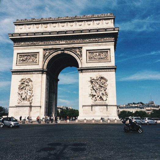 Avenue des Champs-Élysées arch Arc de Triomphe de l'Étoil