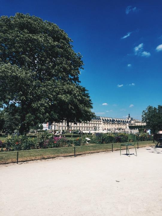 Jardin des Tuileries Paris Park Siene
