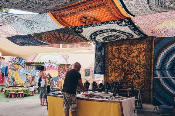 Hippy Market Ibiza Spain