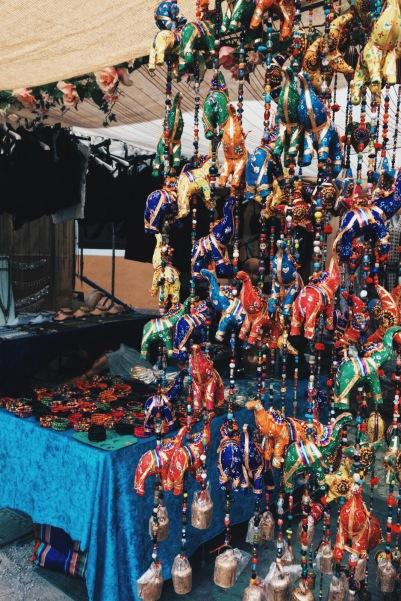 Hippy Market Stall spain handmade
