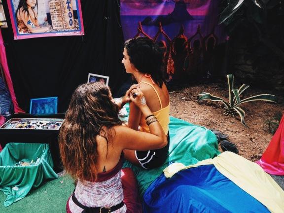 Henna spain ibiza hippy