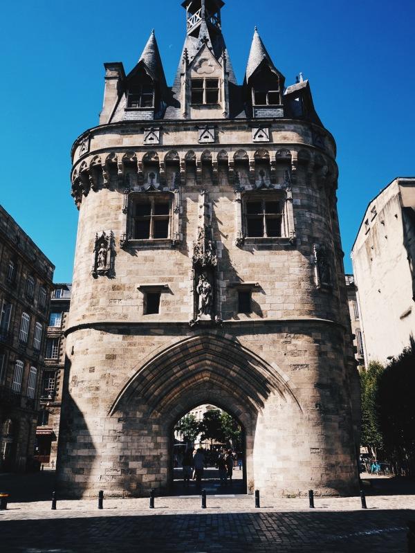 The Old City Gate bordeaux city break france